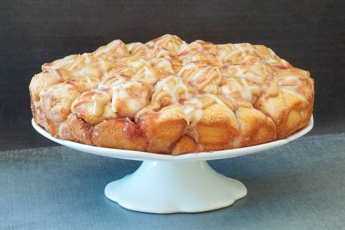 Peanut Butter & Jelly Monkey Bread_