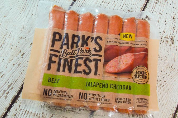 Ball Park Finest Jalapeno Cheddar Hot Dogs