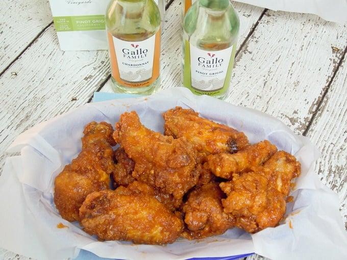 Crispy Maple Hot Wings