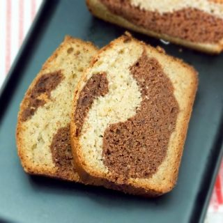 Chocolate Marbled Banana Bread