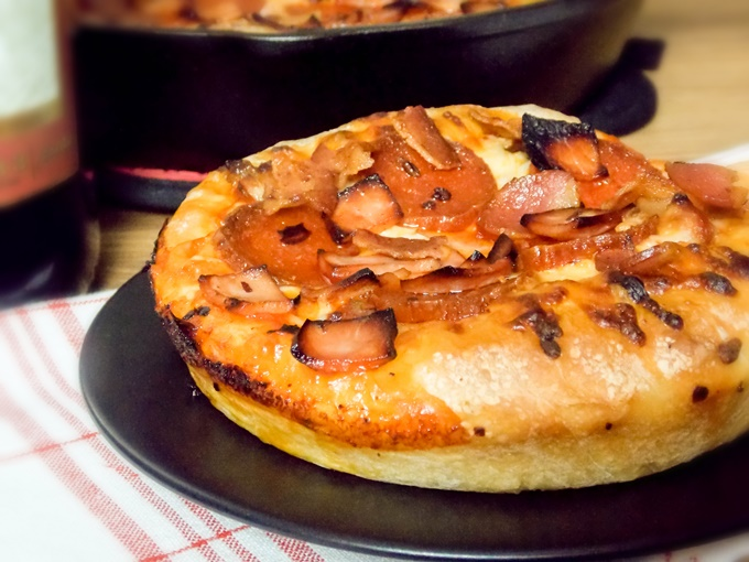 Meat Lover's Skillet Pizza