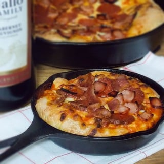 Meat Lovers Skillet Pizza