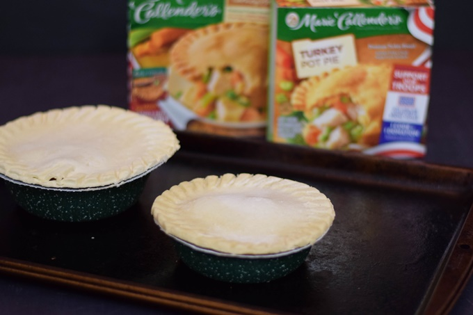 Marie Callendars Pot Pie unbaked (rs)