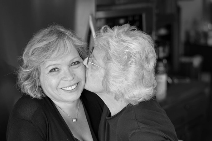 Mom and Me B&W (1 of 1) RS