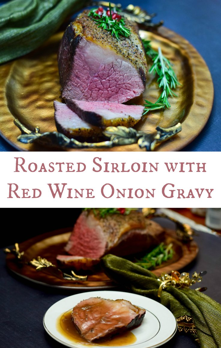 Roasted Sirloin With Red Wine