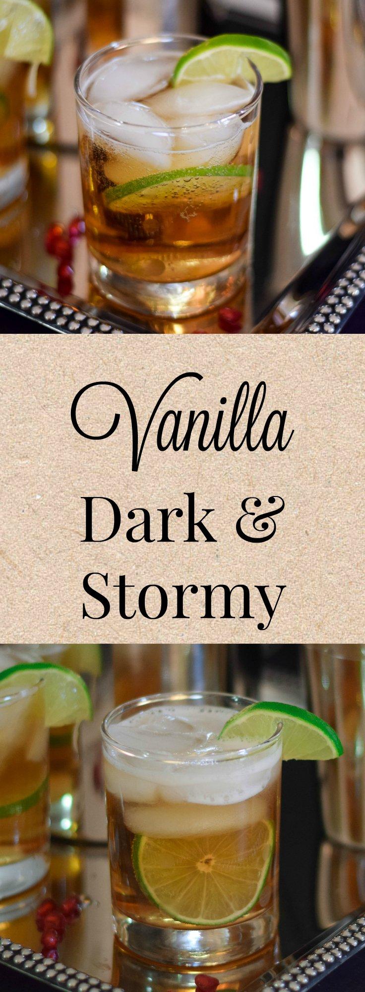Vanilla Dark and Stormy
