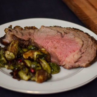 Prime Rib Roast with Brussels Sprouts #SundaySupper #RoastPerfect