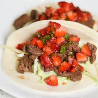 Venison Street Tacos #SundaySupper #FLStrawberry