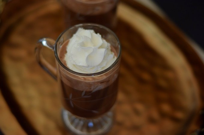 Boozy Sipping Chocolate