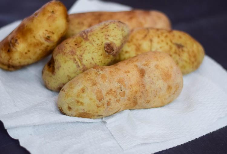 Spicy Poutine Potato Skins