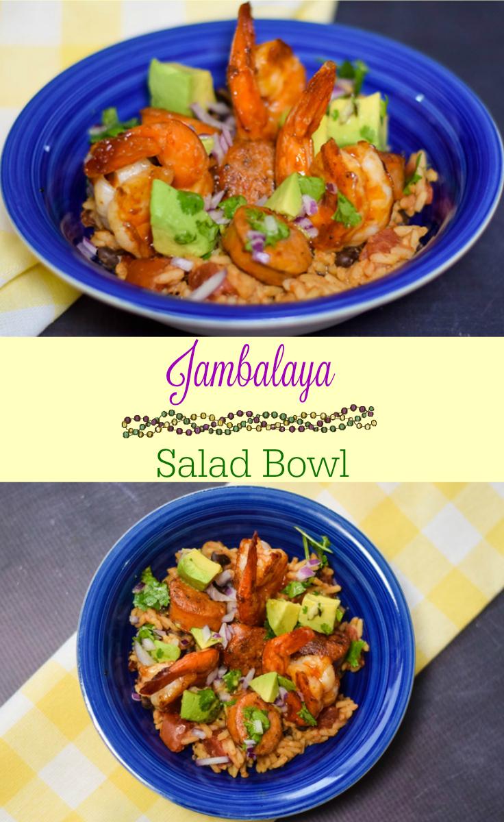Jambalaya Salad Bowl