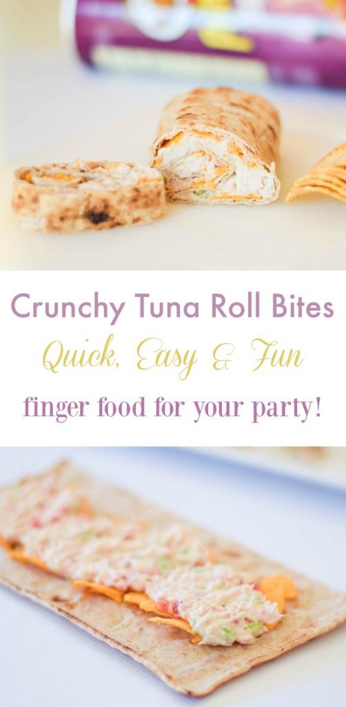 Crunchy Tuna Roll Bites