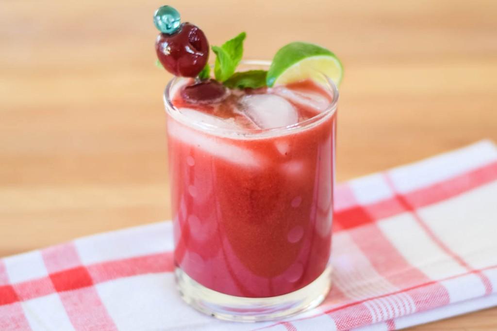 Dark Sweet Cherry Mojito