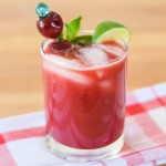 Dark Sweet Cherry Mojito