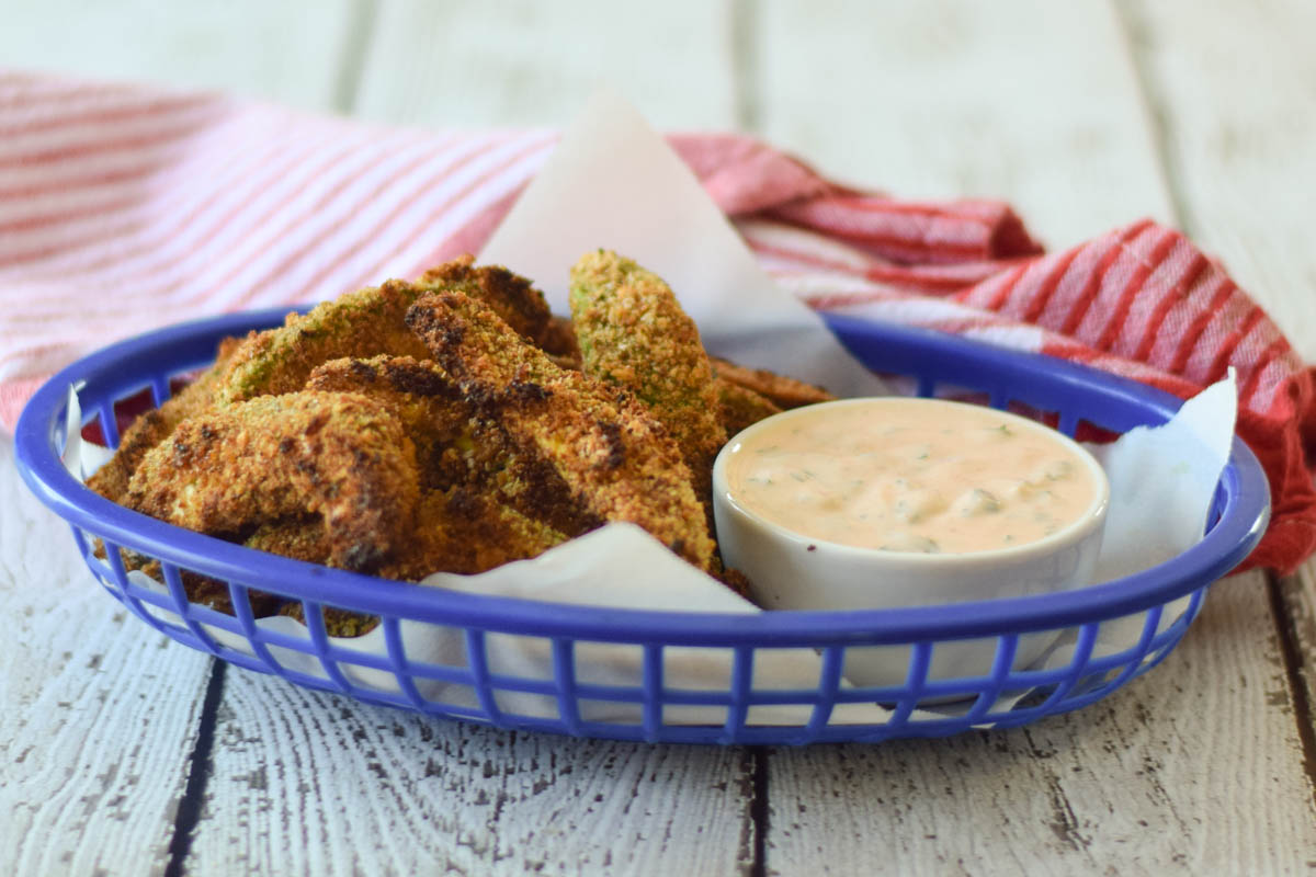 Baked Chipotle Avocado Fries