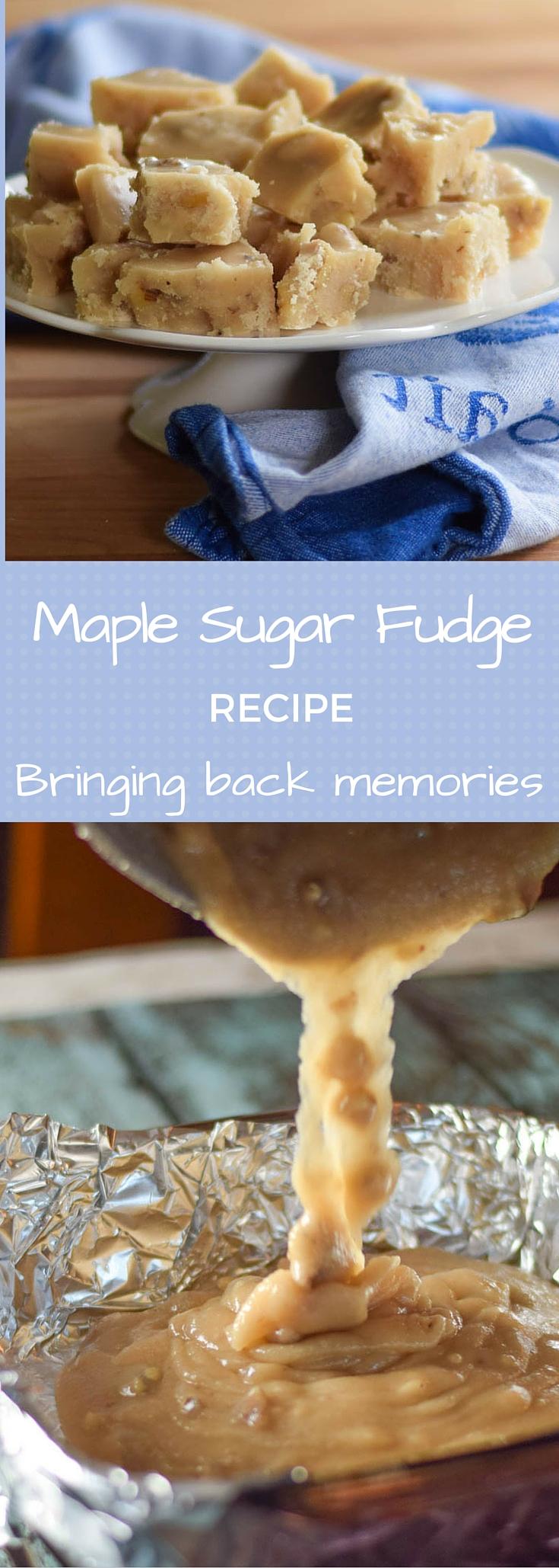Maple Sugar Fudge Recipe