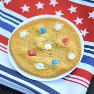 Chewy M&M Cookies #SundaySupper