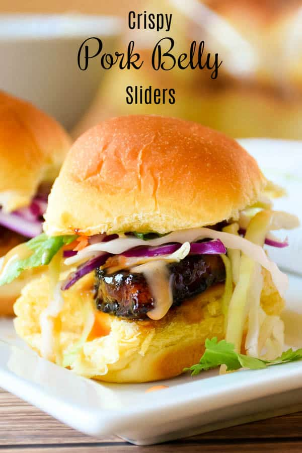 Crispy Pork Belly Sliders