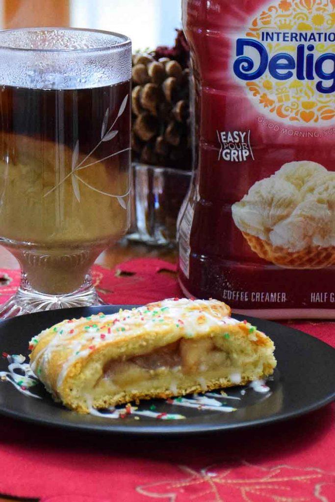 Caramel Apple Cheese Danish
