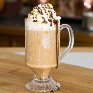Salted Caramel Mocha Latte
