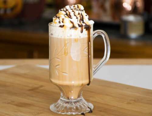 Salted Caramel Mocha Latte – Copy Cat Recipe