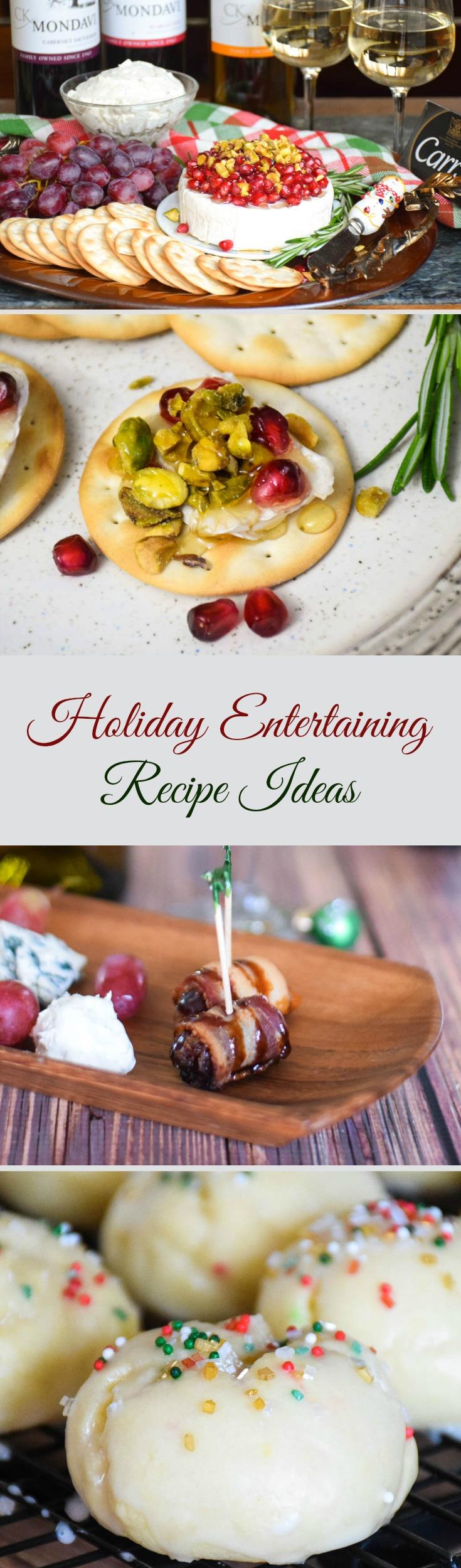 Holiday Entertaining Recipe Ideas