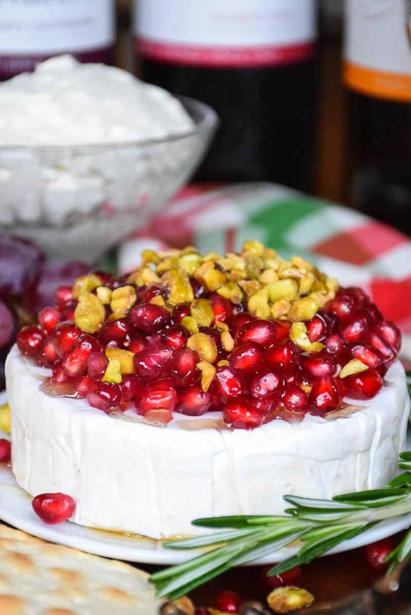 Pomegranate Pistachio Brie