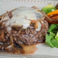 Smothered Hamburger Steaks