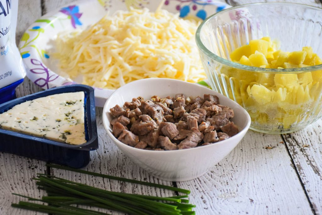 Toppings for Steak and Potato Pizza