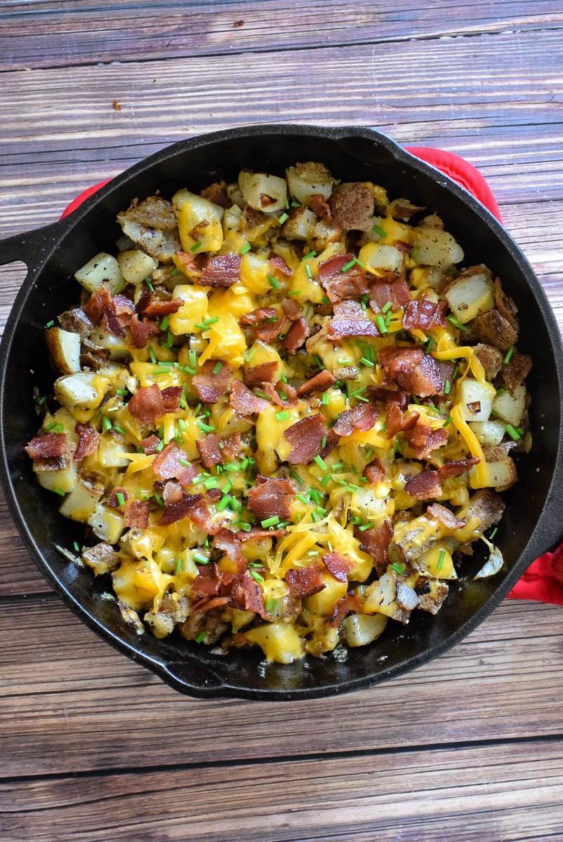 Cheesy Bacon Home Fries