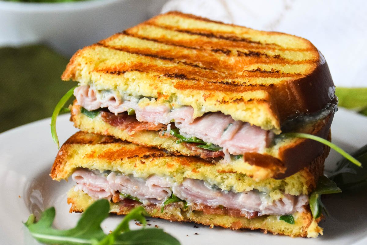 Grilled Jam And Cheese Sandwich Recipe — Dishmaps