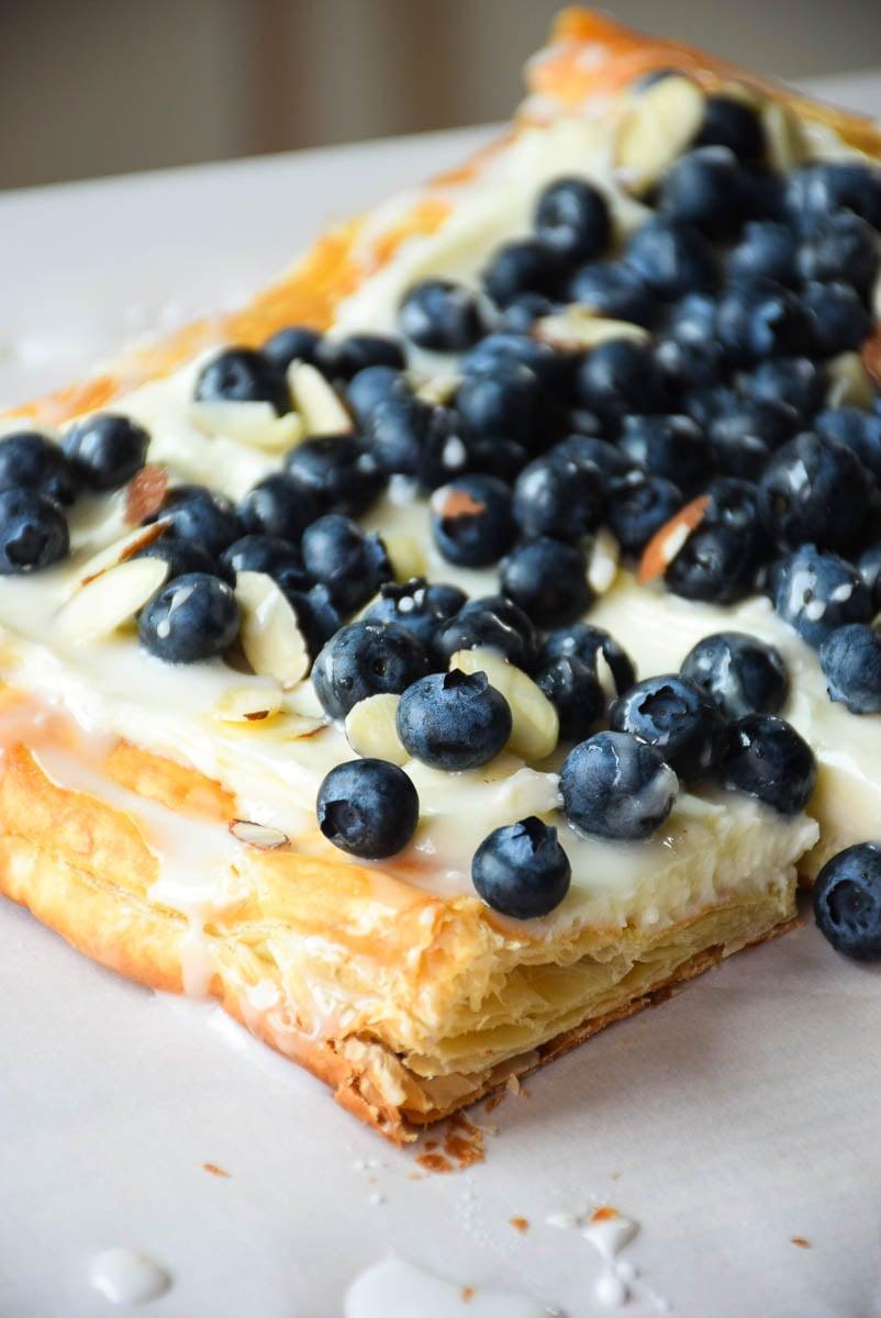 Blueberry Almond Cream Tart