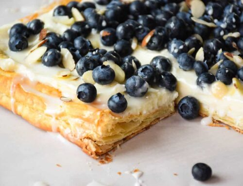Blueberry Tart with Almond Cream Filling