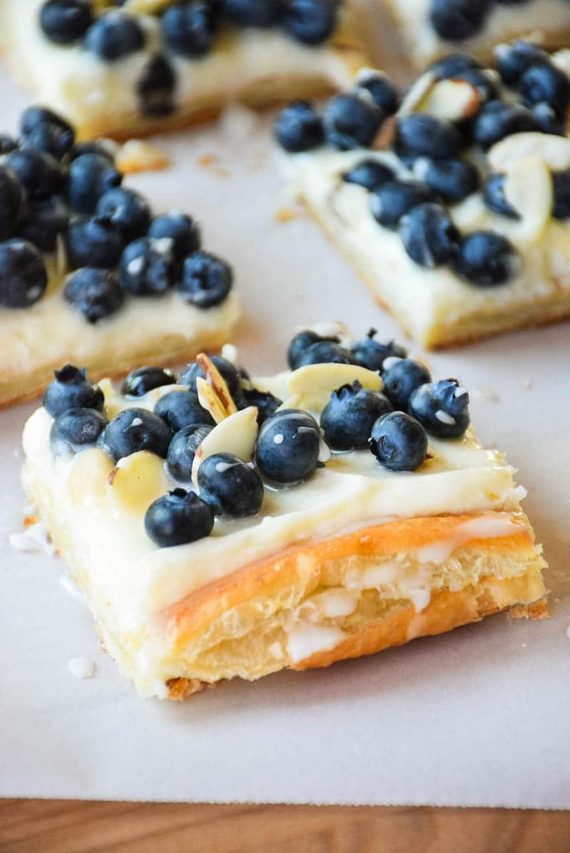 Blueberry Almond Cream Dessert
