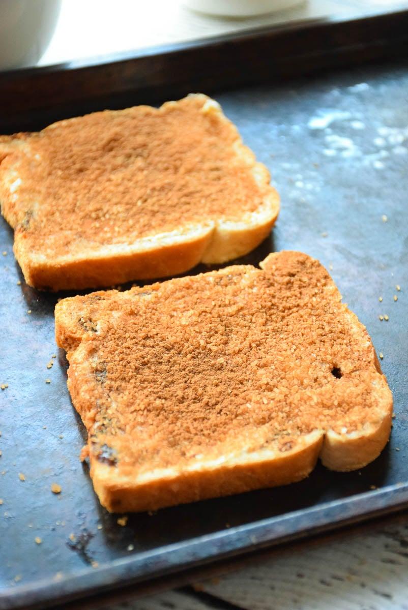 Caramelized Cinnamon Toast
