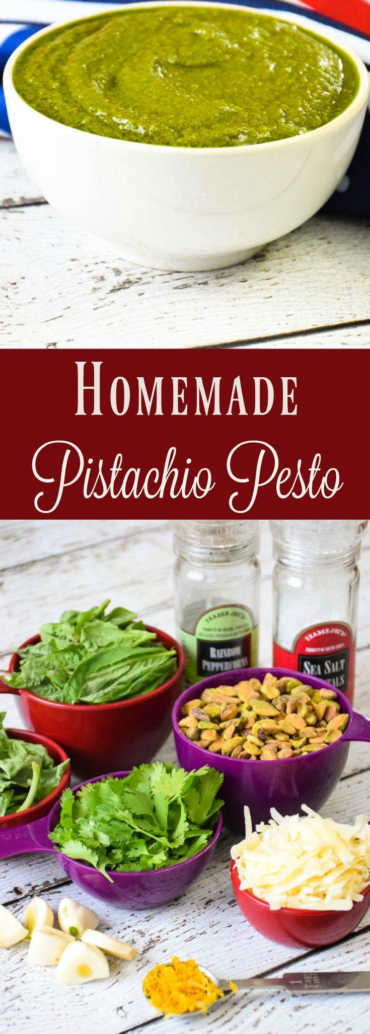 Homemade Pistachio Pesto