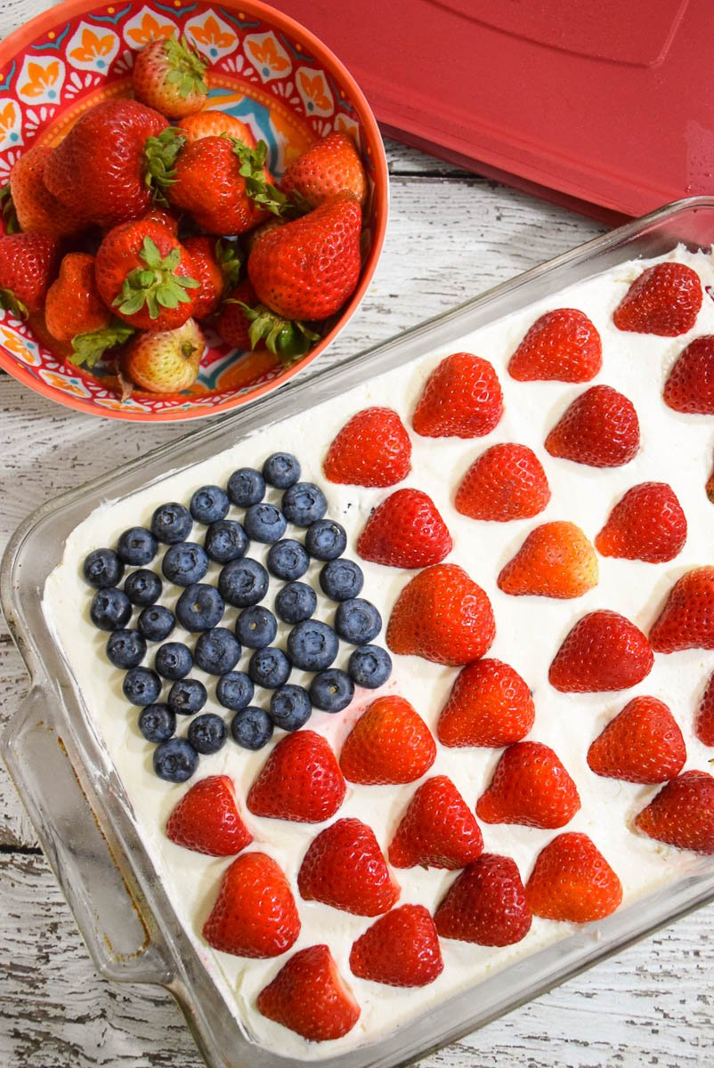 Wave Your Flag Cheesecake #GrabGoWow