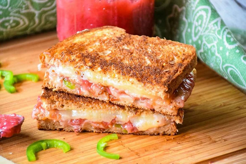 Bacon Cheddar Jalapeno Grilled Cheese