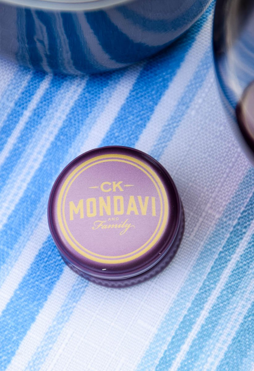 CK Mondavi and Family bottle cap