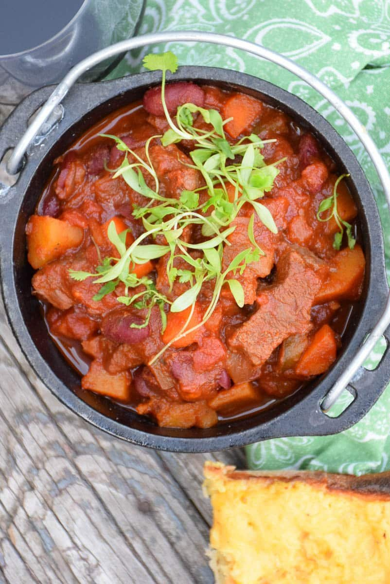 Beef and Butternut Chili #BeefTogether