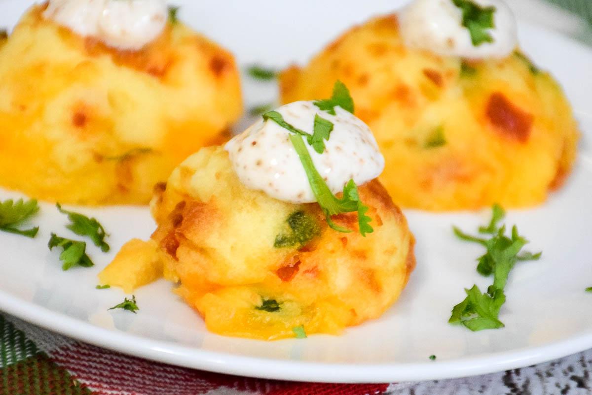 Chorizo Jalapeno Potato Puffs
