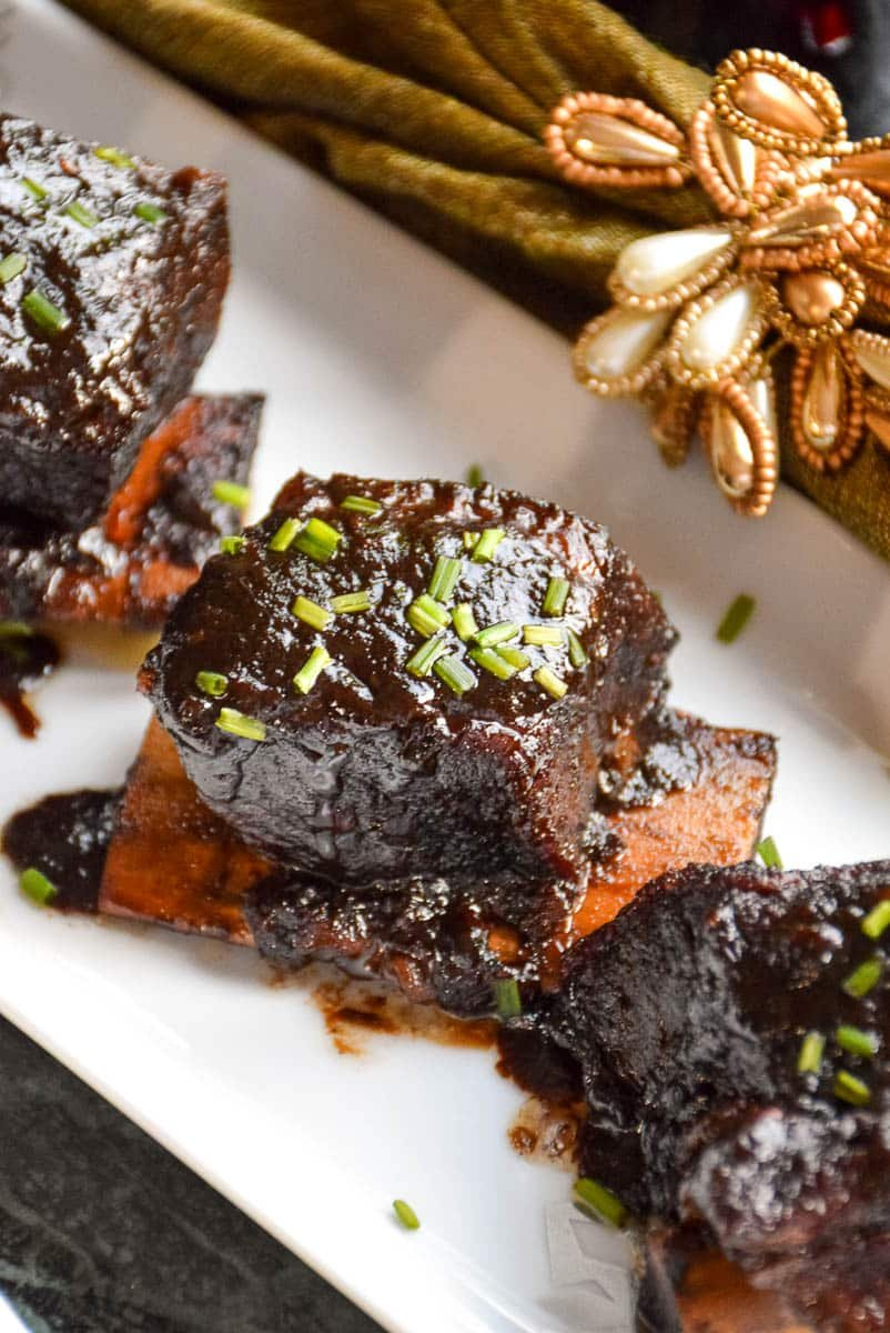 Sweet Chili Wine Braised Short Ribs
