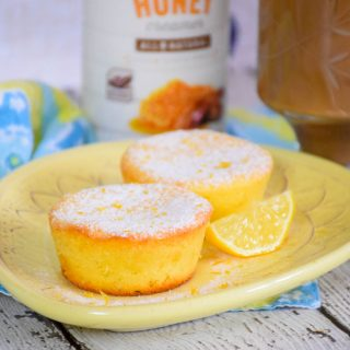Lemon Cheesecake Muffins