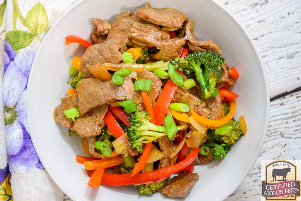 Spicy Beef and Broccoli Stir-Fry