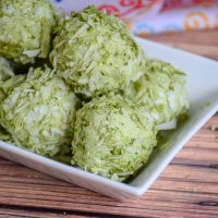 Matcha Cheesecake Fat Bombs