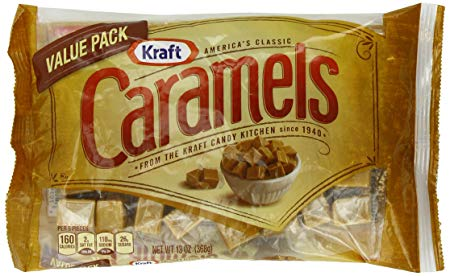 Kraft Caramels Bag, 13 Ounce