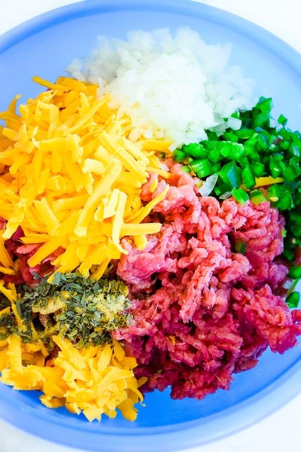 Cheddar Jalapeno Meatloaf