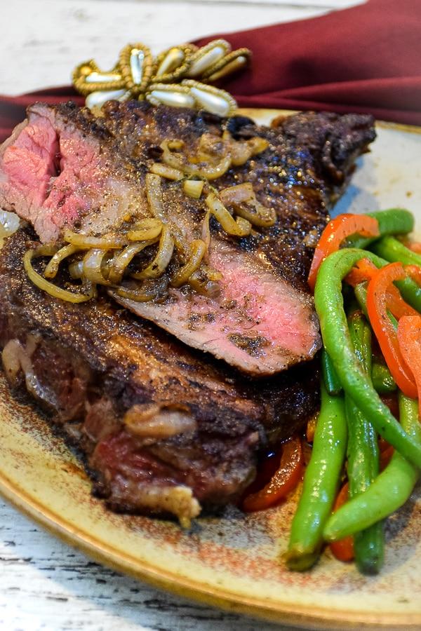 Sous Vide Rib Steaks