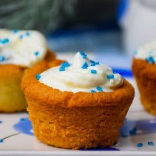 Keto Cannoli Cookie Cups