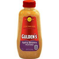 Gulden's Spicy Brown Mustard, 12 Oz